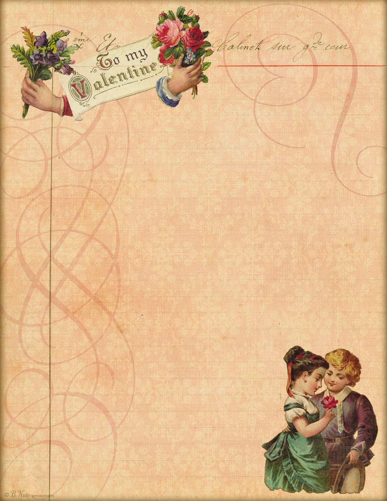 Pinsnowmoon On Paper And Decoupage | Pinterest | Vintage - Free Printable Love Letter Paper