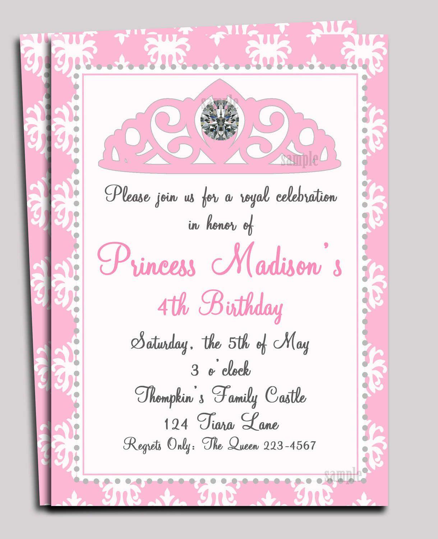 Pinwendy Coxon On Princess Nadia | Princess Invitations - Free Printable Princess Baby Shower Invitations