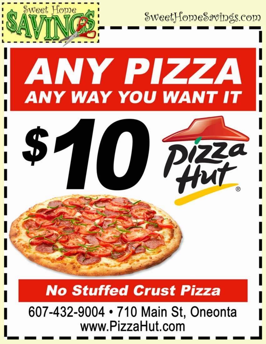 Pizza Hut Coupons Online | Printable Coupons Online - Free Printable Round Table Pizza Coupons