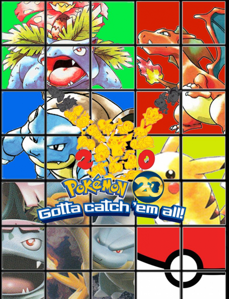 photograph relating to Pokemon Binder Cover Printable identified as Pkmn 20Th Binder Coversonicchaos2012 Upon Deviantart