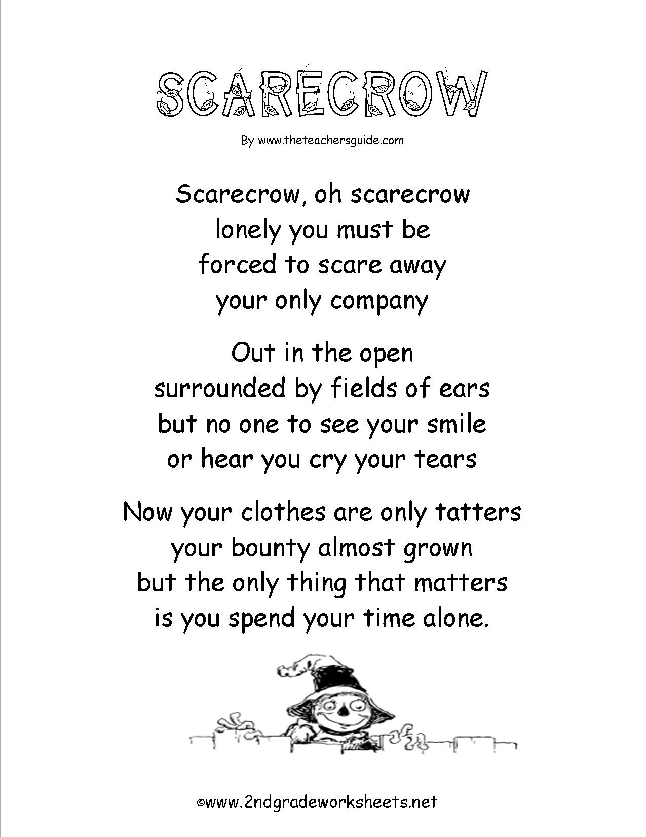 Poem Comprehension Worksheets - Free Printable English Comprehension Worksheets For Grade 4