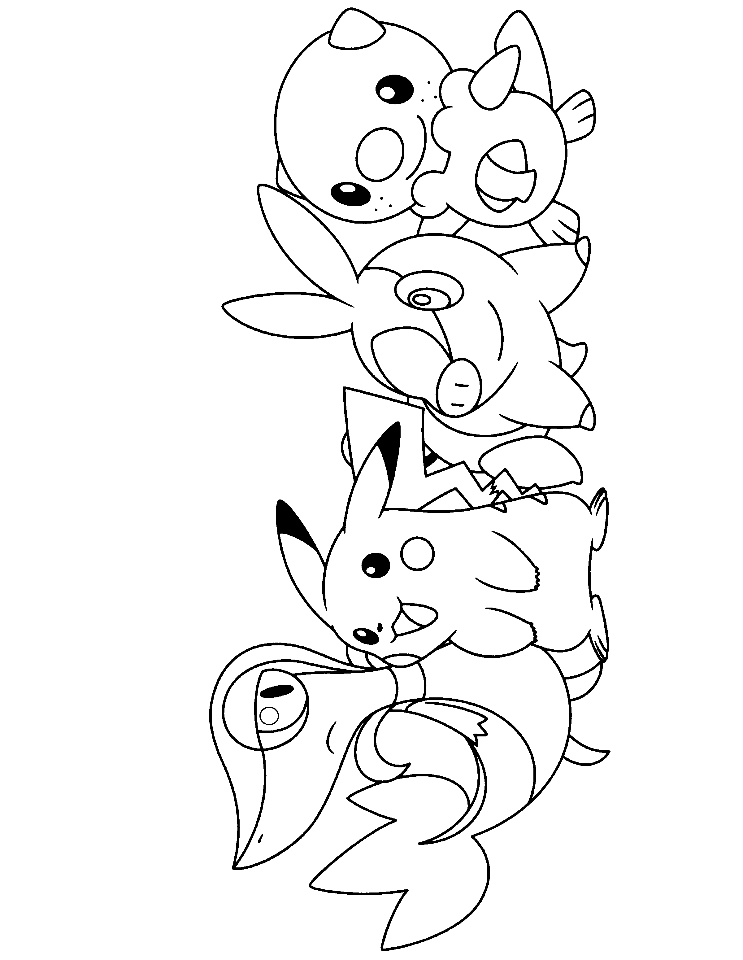 Pokemon Black And White Coloring Pages - Google Search | Coloring - Free Printable Coloring Pages Pokemon Black White