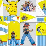 Pokemon: Free Party Printables And Images.   Oh My Fiesta! For Geeks   Free Printable Pokemon Birthday Invitations