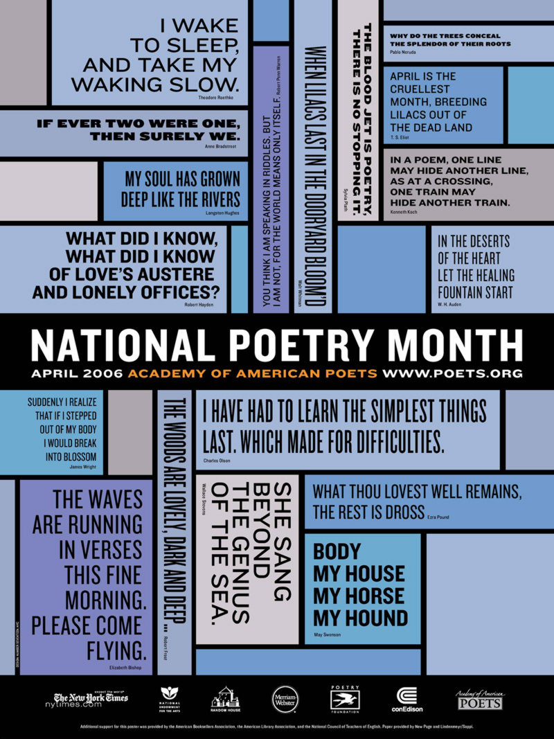 Poster Gallery | Academy Of American Poets - Free Printable Poetry Posters
