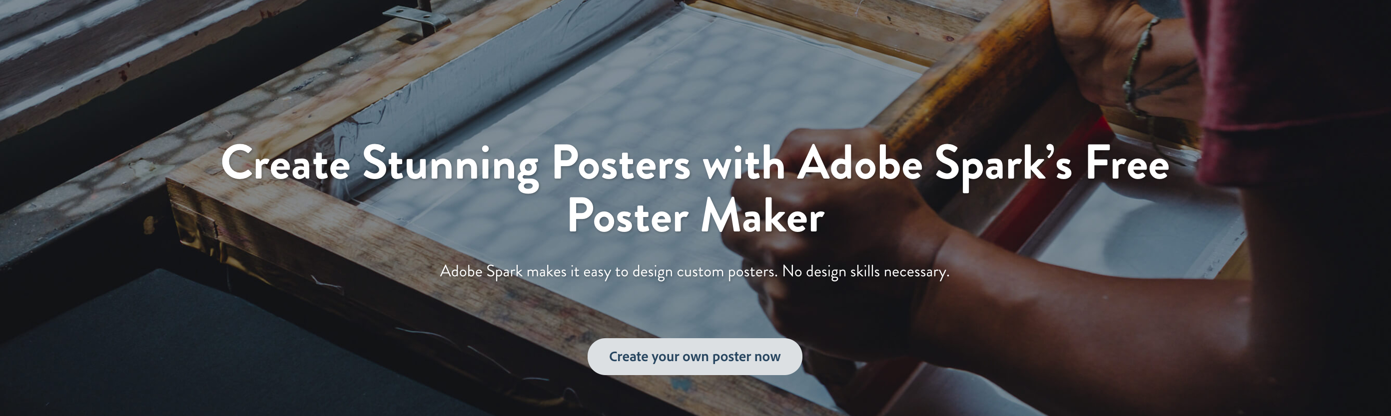 Poster Maker: Create Beautiful Posters For Free | Adobe Spark - Design Your Own Poster Free Printable