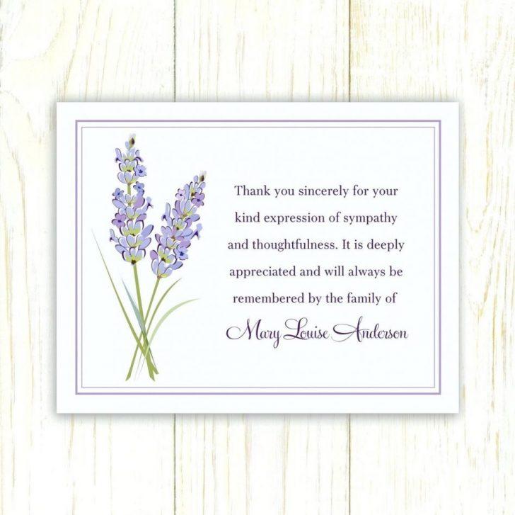 Thank You Sympathy Cards Free Printable