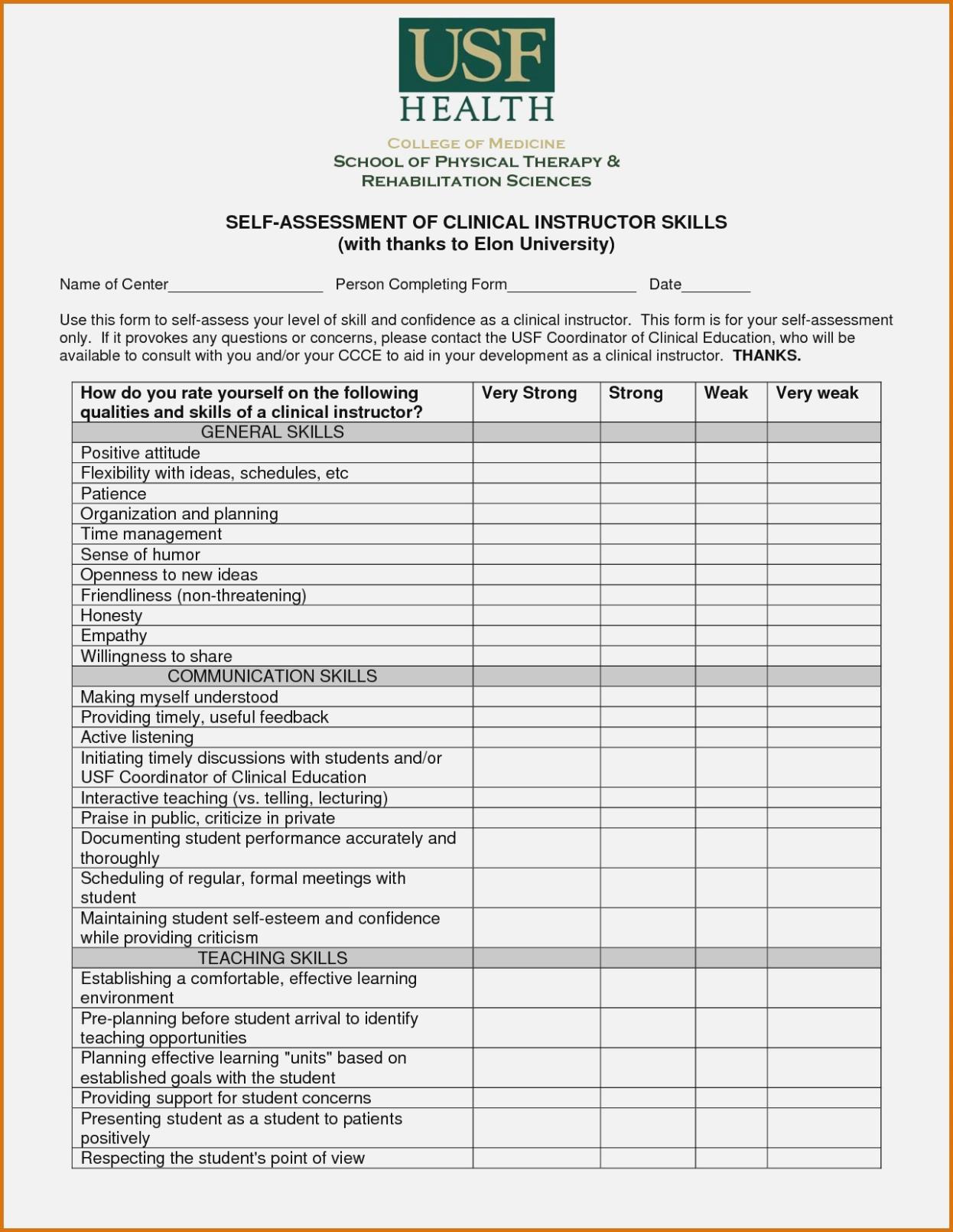 Preschool Assessment Forms Free Printable Skills Assessment Forms - Preschool Assessment Forms Free Printable