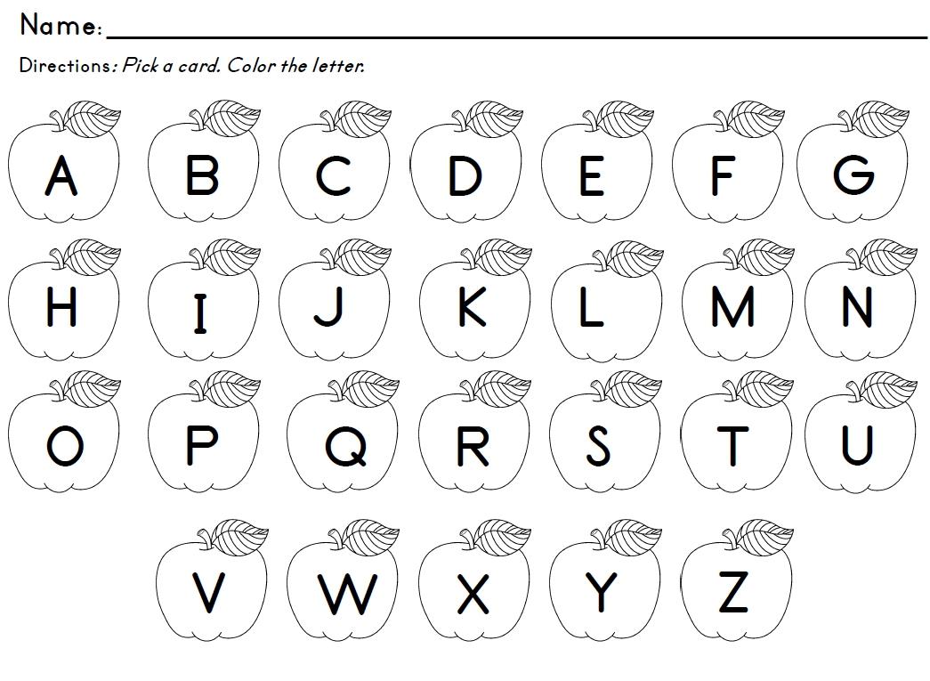 Preschool Letter Recognition Worksheets To Free - Math Worksheet For - Free Printable Letter Recognition Worksheets