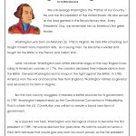 President's Day Coloring Worksheet | George Washington Worksheets   Free Printable George Washington Worksheets