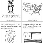 President's Day Pop Up Books | Top Teachers Smorgasboard   Free Printable George Washington Worksheets