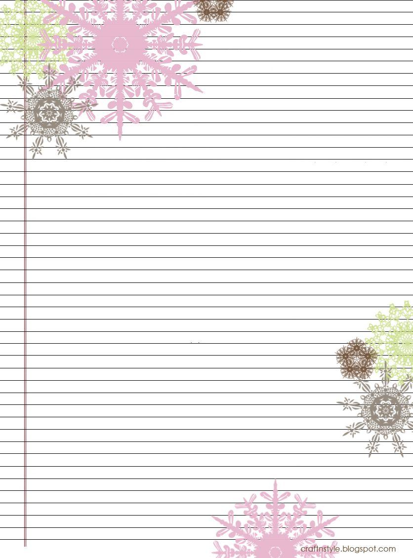 Pretty Printable Stationery Free | Stationery Products | Free - Free Printable Stationary