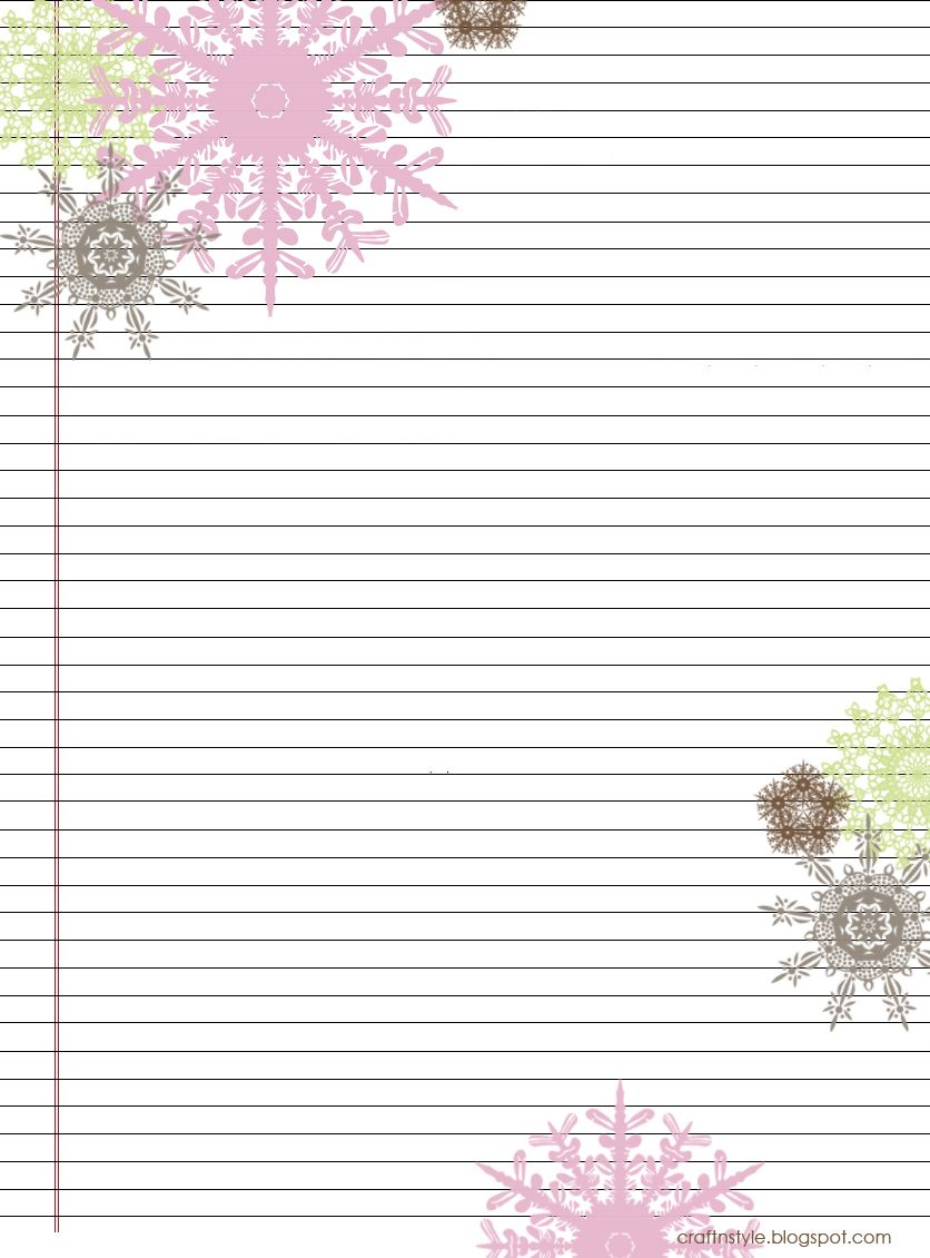 Pretty Printable Stationery Free | Stationery Products | Free - Free Printable Stationery Paper