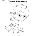 Prince Wednesday Coloring Page! #danieltiger #wqed #pbskids | Daniel   Free Printable Daniel Tiger Coloring Pages