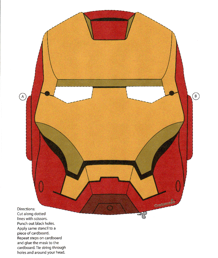 Print Ironman Mask | All Things Ironman/avengers | Iron Man - Free Printable Ironman Mask