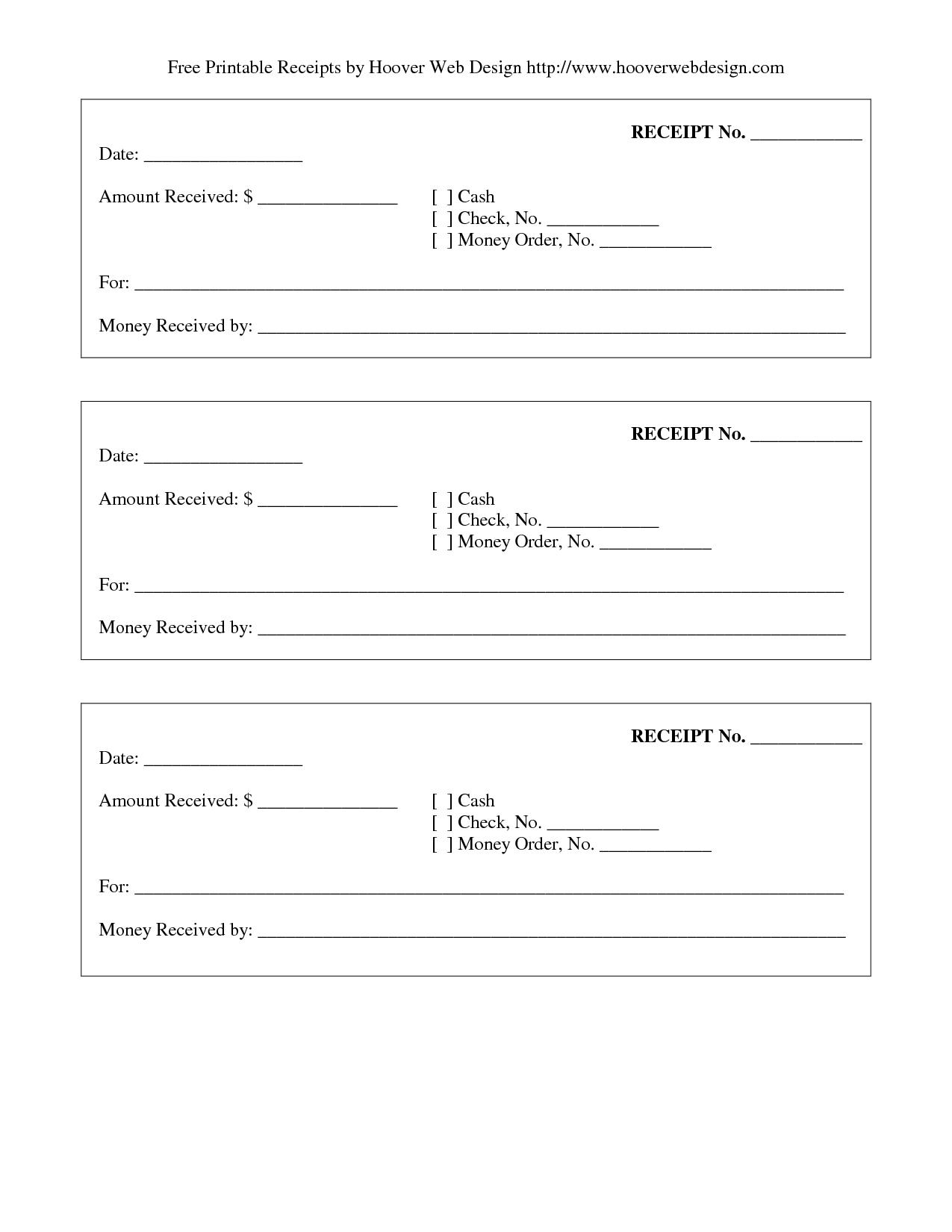 Print Receipt | Free Printable Receipt | Stuff To Buy | Pinterest - Free Printable Receipt Template
