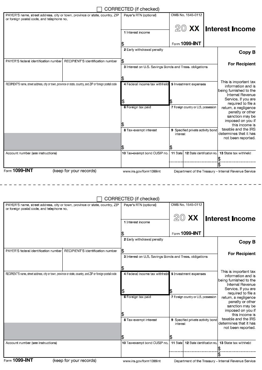 Printable 1099 Tax Form 2014 – Form Printable Blank Forms Free - Free Printable 1099 Misc Form 2013