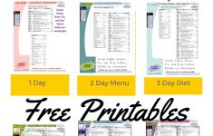 Free Printable 1200 Calorie Diet Menu