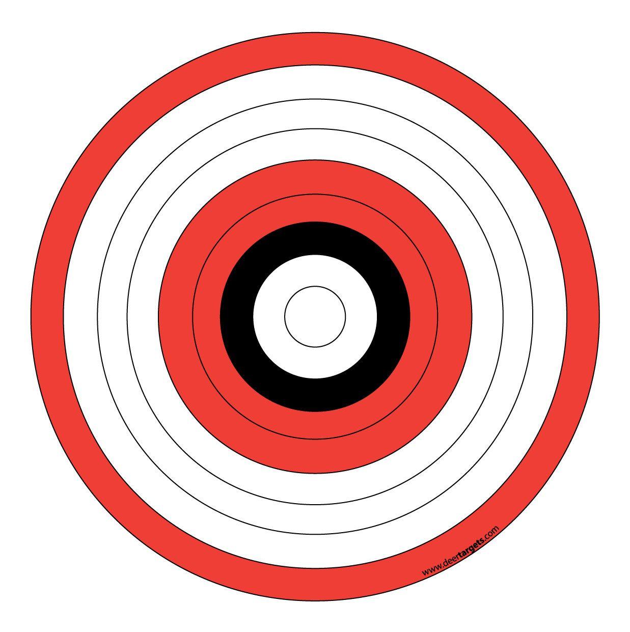 Printable Archery Targets   Archery - Target & Stands   Diy Archery - Free Printable Targets For Shooting Practice