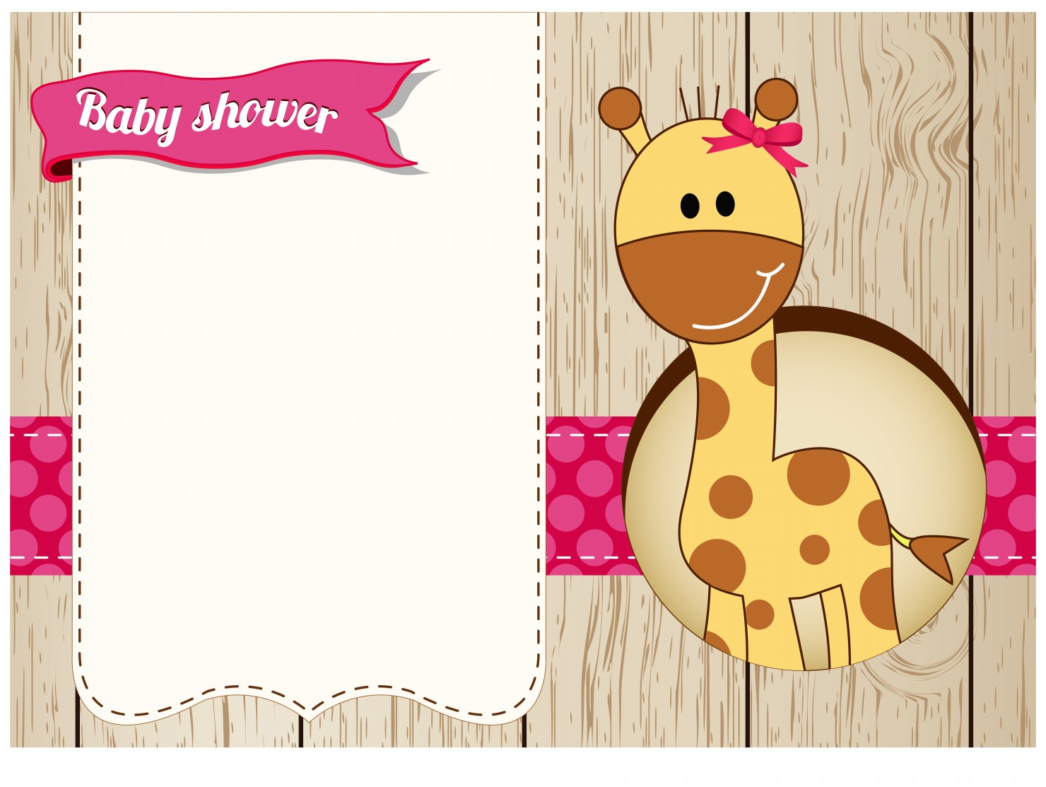 Printable Baby Shower Cards For Girl Showers - Clip Art Library - Free Printable Baby Shower Clip Art