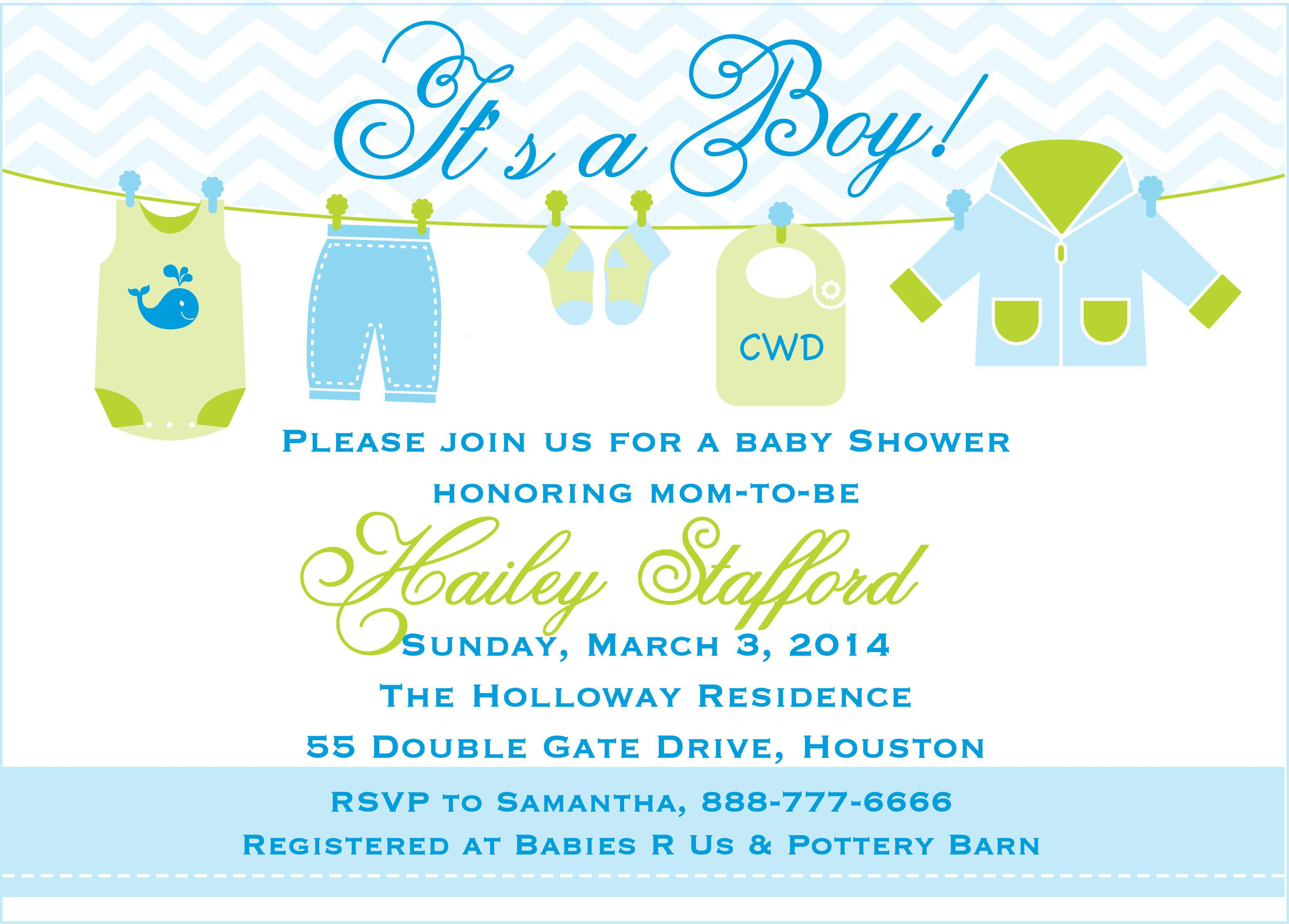 Printable Baby Shower Invites Boy Free Wedding Sample Pet Shower - Free Baby Boy Shower Invitations Printable