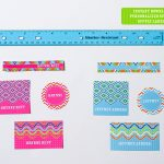 Printable Back To School Labels Round Up (+ Freebie!)   Anders Ruff   Free Customized Name Tags Printable