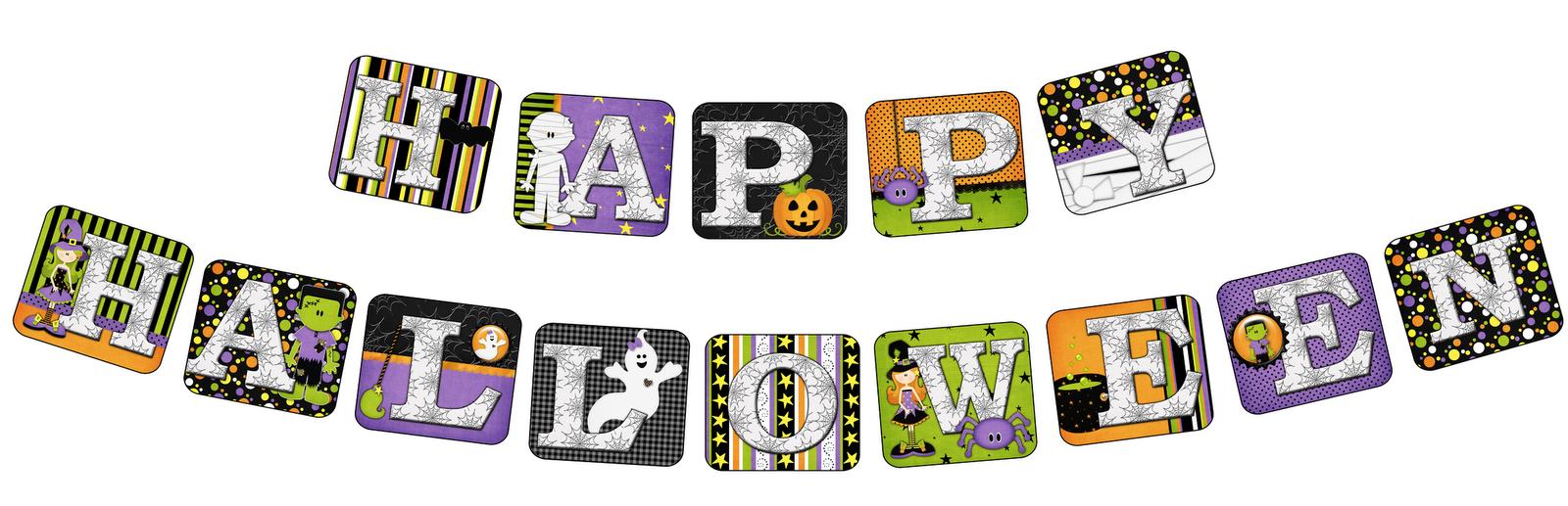 Printable Banners Templates Free   Yvonne Byatt's Family Fun: Free - Free Printable Halloween Banner Templates