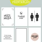 Printable Bathroom Signs | Being Mrs Mcintosh   Free Printable Funny Posters