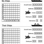 Printable Battleship Game (And Other Printables). Would Also Be – Free Printable Battleship Game