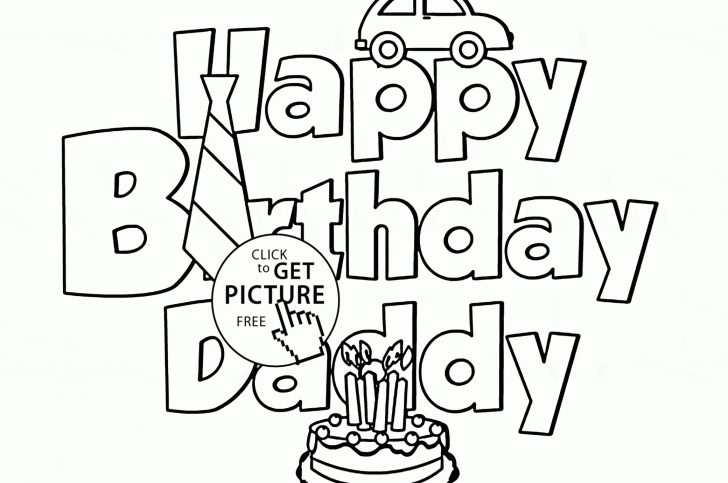 Free Printable Birthday Cards For Dad