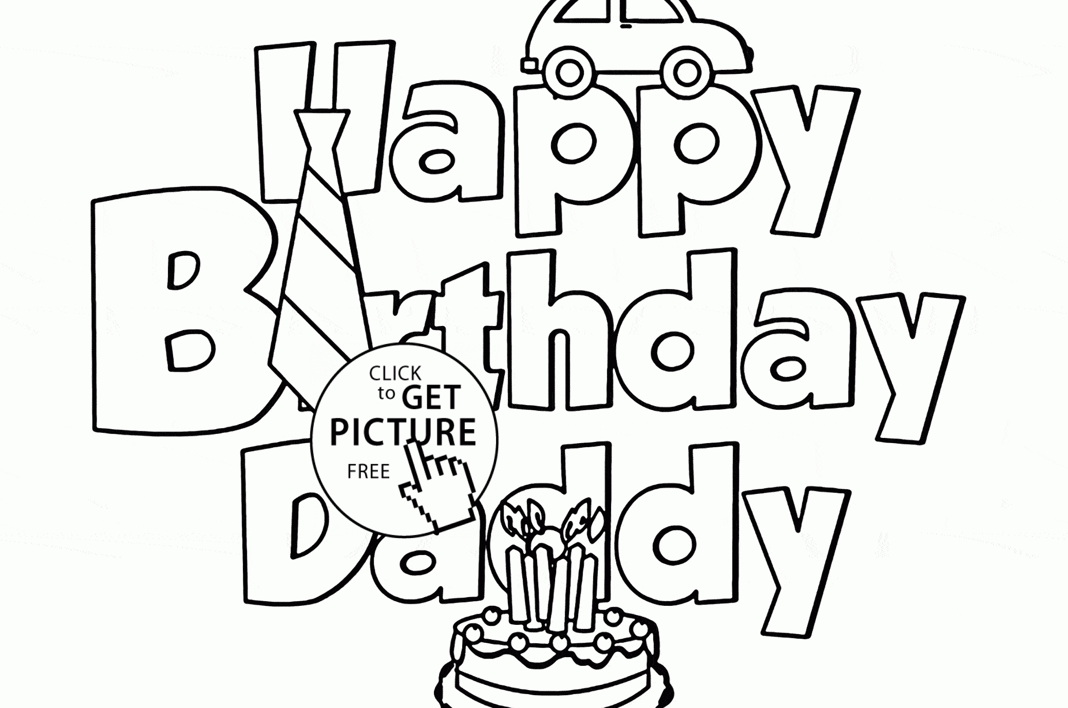 Printable Birthday Cards For Dad Free Printable Birthday Cards For - Free Printable Birthday Cards For Dad