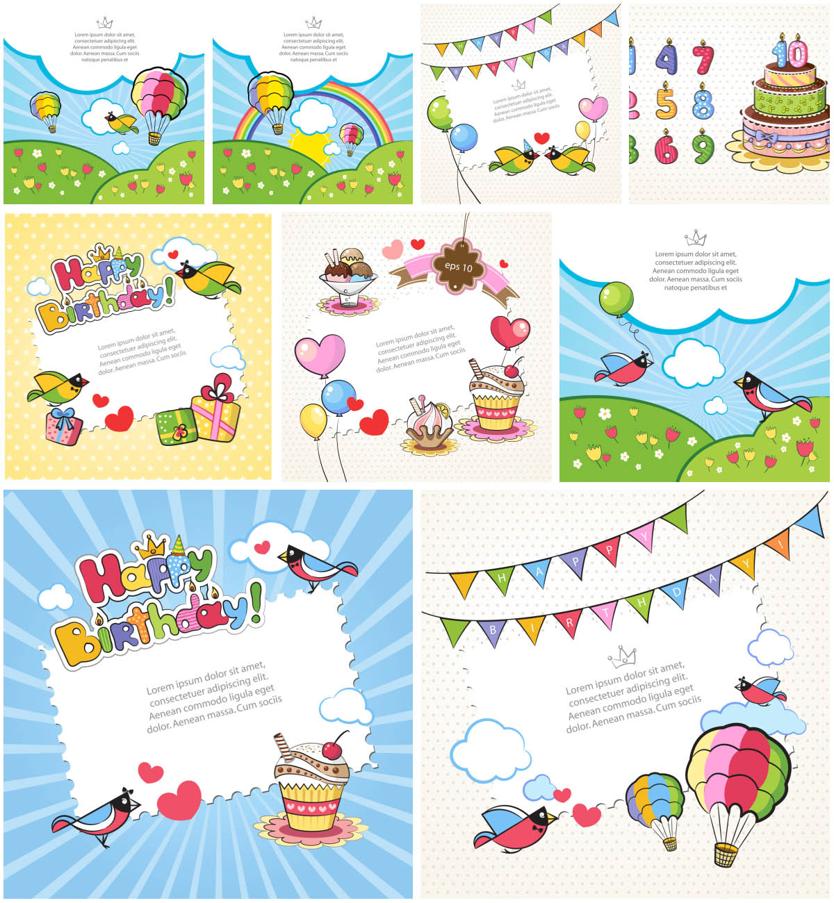 Printable Birthday Cards For Kids | Vector Graphics Blog - Free Printable Birthday Cards For Kids