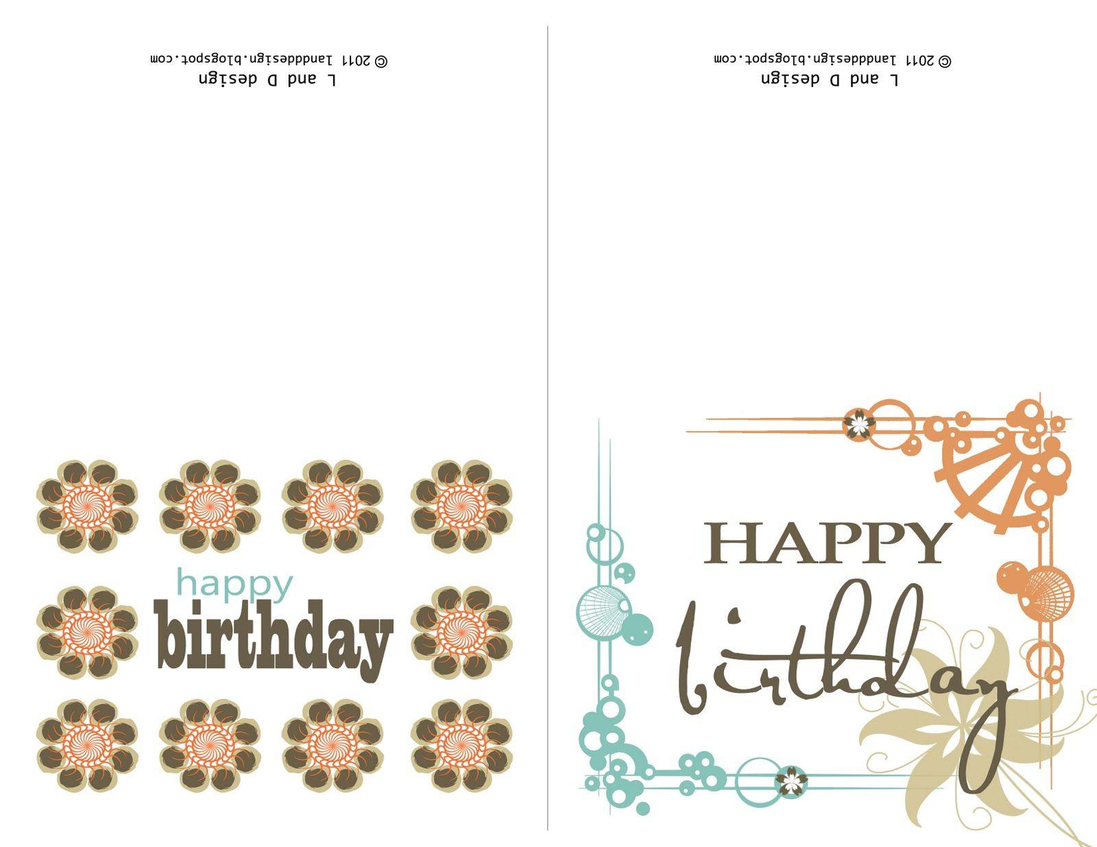 Printable Birthday Cards For Mom | Happy Birthday To You | Pinterest - Free Printable Birthday Cards For Mom