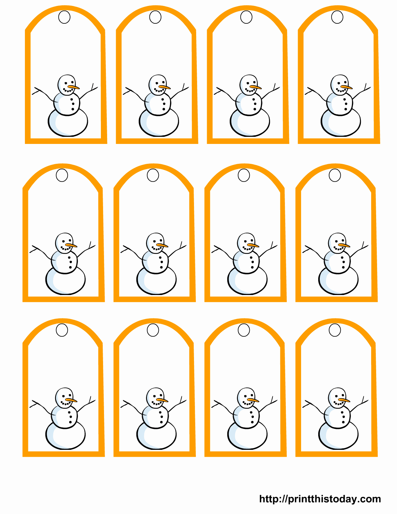 Printable Blank Gift Tags Templates Of 6 Best Of Free Printable Gift - Free Online Gift Tags Printable
