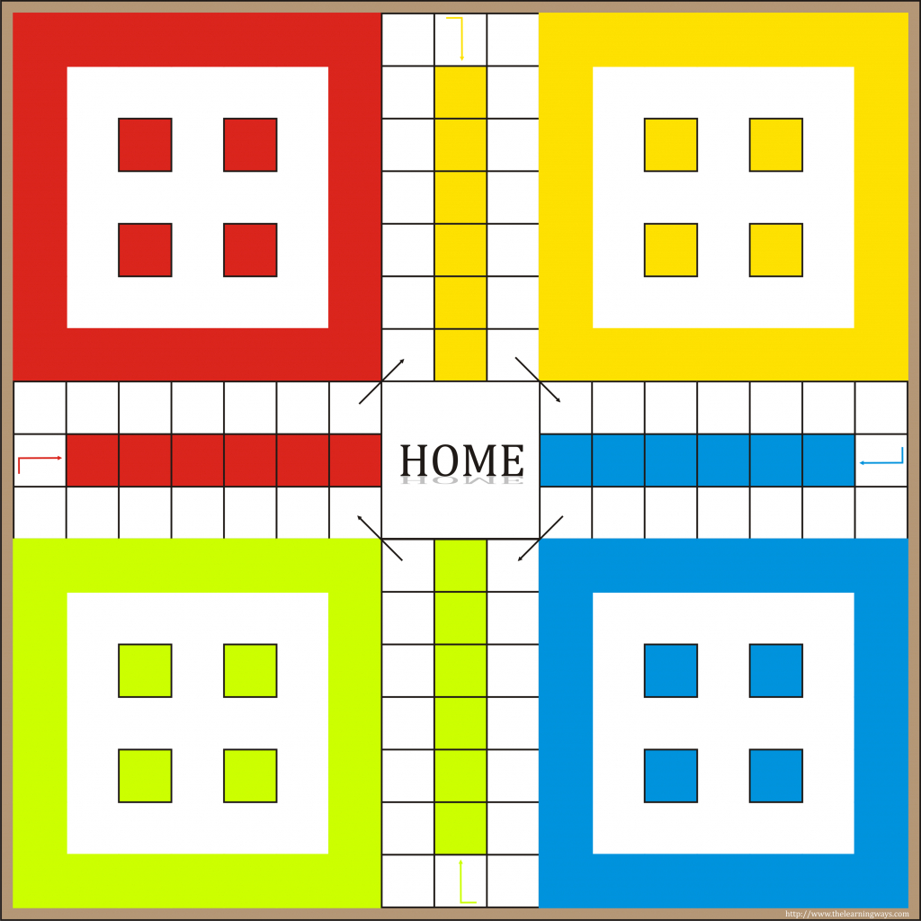 Printable Board Games Ludo #90123 -Printable Myscres Throughout Free - Free Printable Ludo Board