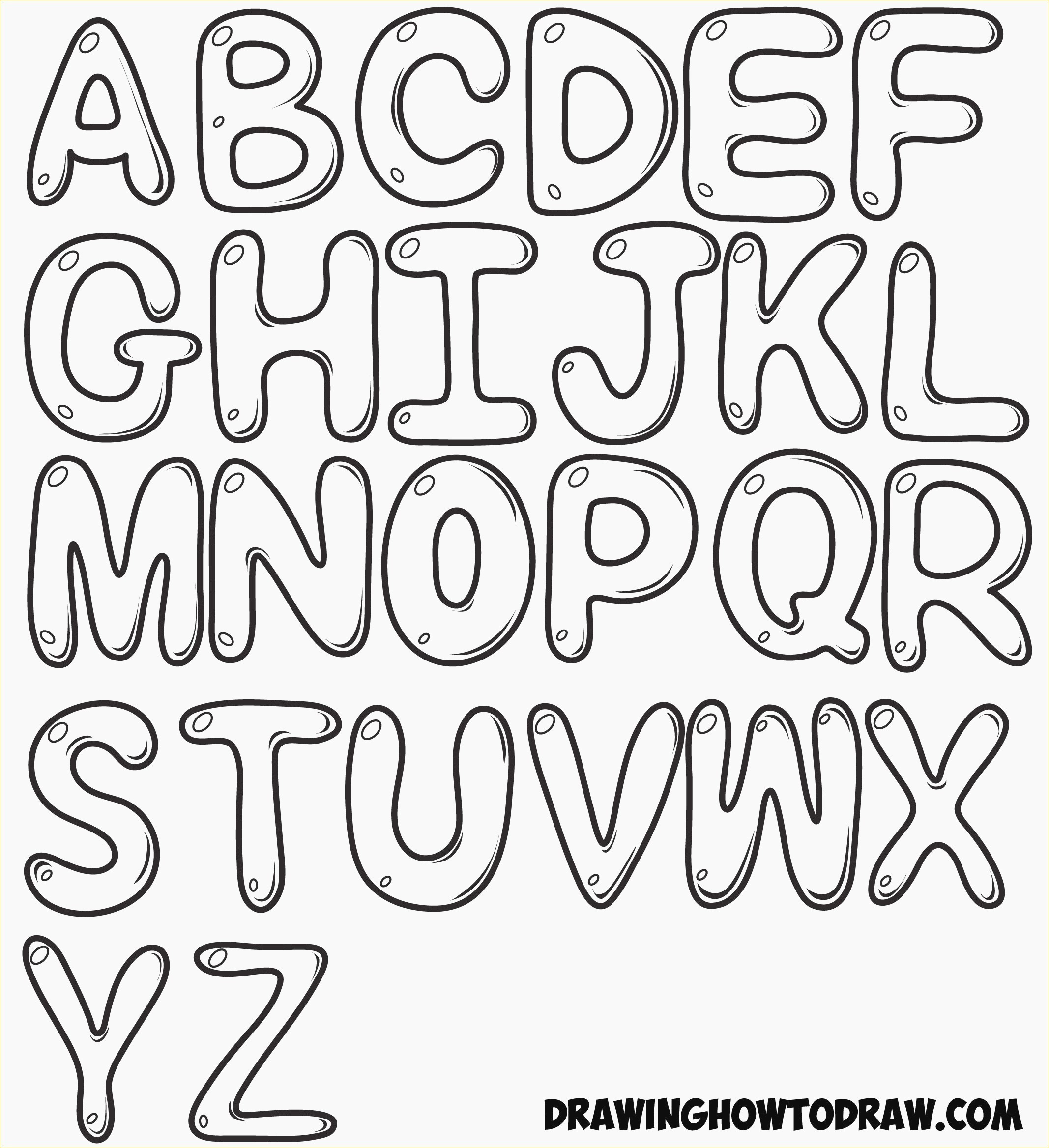 Printable Bubble Letters Period - 9.9.hus-Noorderpad.de • - Free Printable Bubble Letters