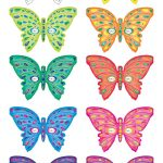 Printable Butterfly Masks   Coolest Free Printables | Saving   Free Printable Butterfly Cutouts