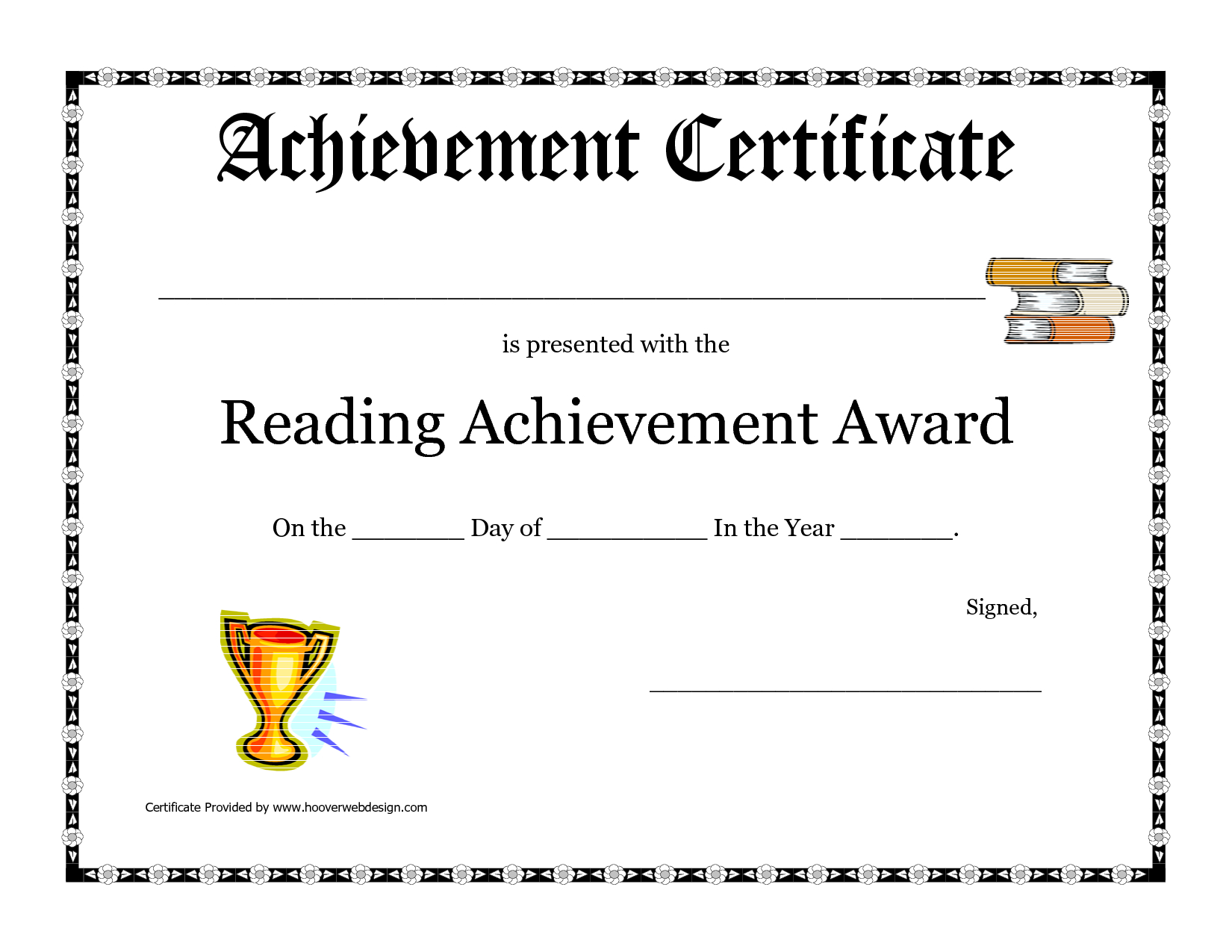 Printable-Certificate-Pdfs-Achievement - Free Printable Certificates Of Accomplishment