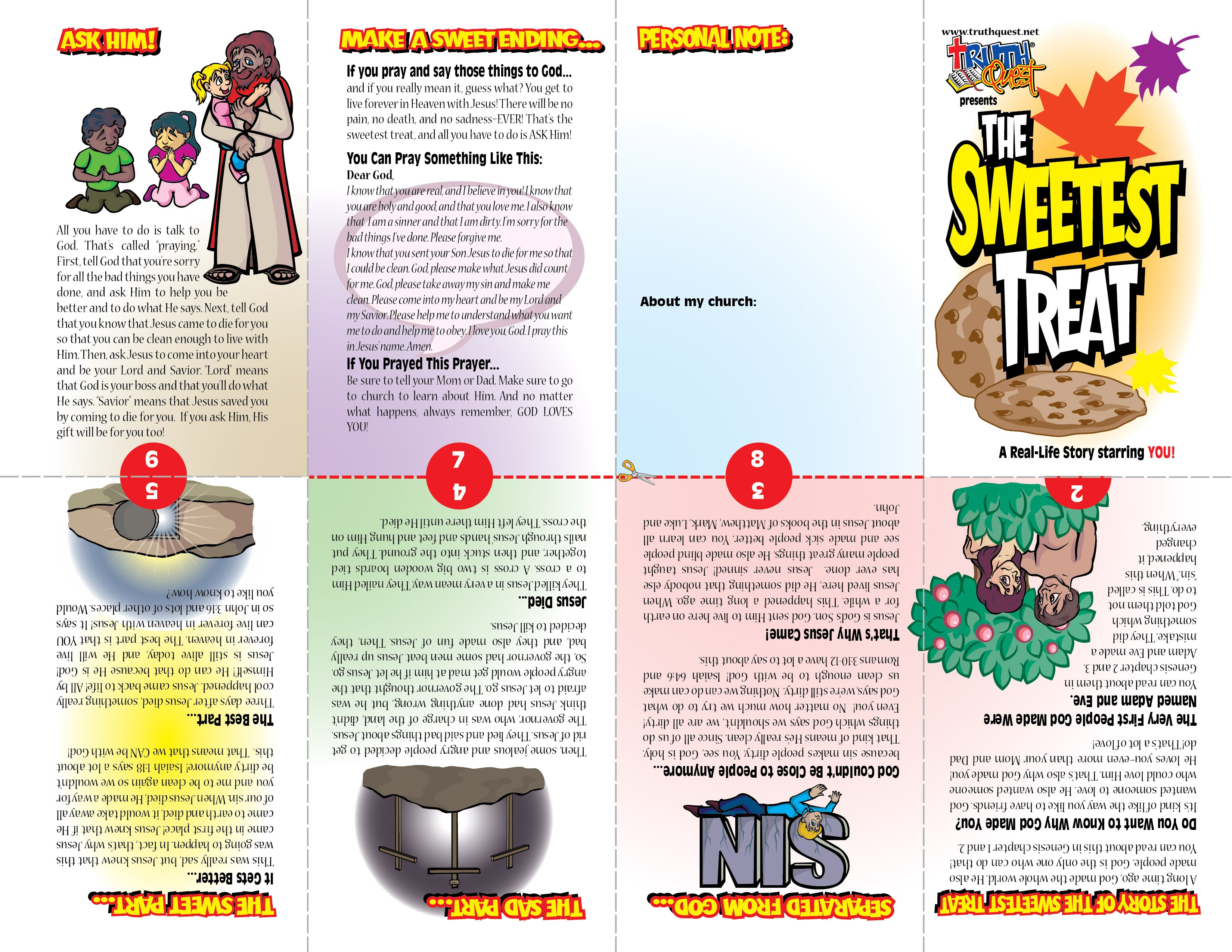 Printable Christian Tracts For Halloween | Halloween Arts - Free Bible Tracts Printable