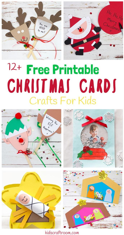Free Printable Xmas Cards