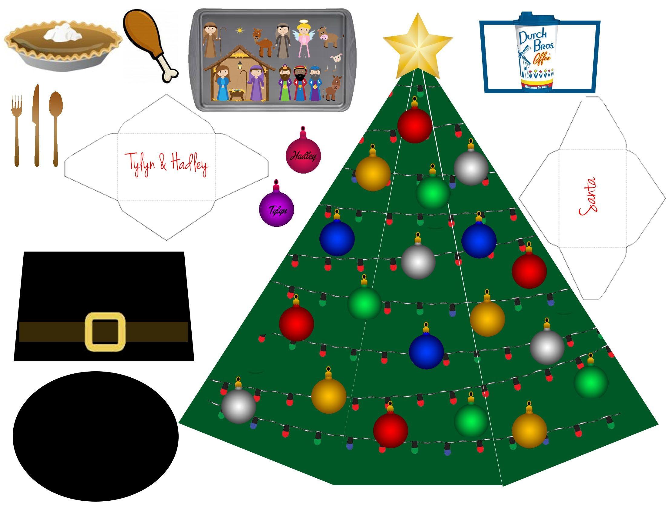 Printable Christmas Decorations Cutouts Newchristmas Co. Printable - Free Printable Christmas Cutouts