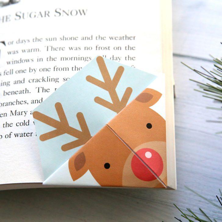 Free Printable Bookmarks For Christmas