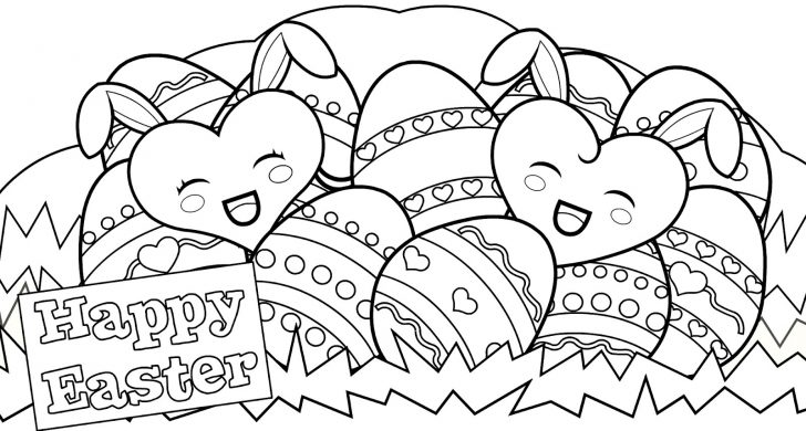 Free Printable Easter Colouring Sheets