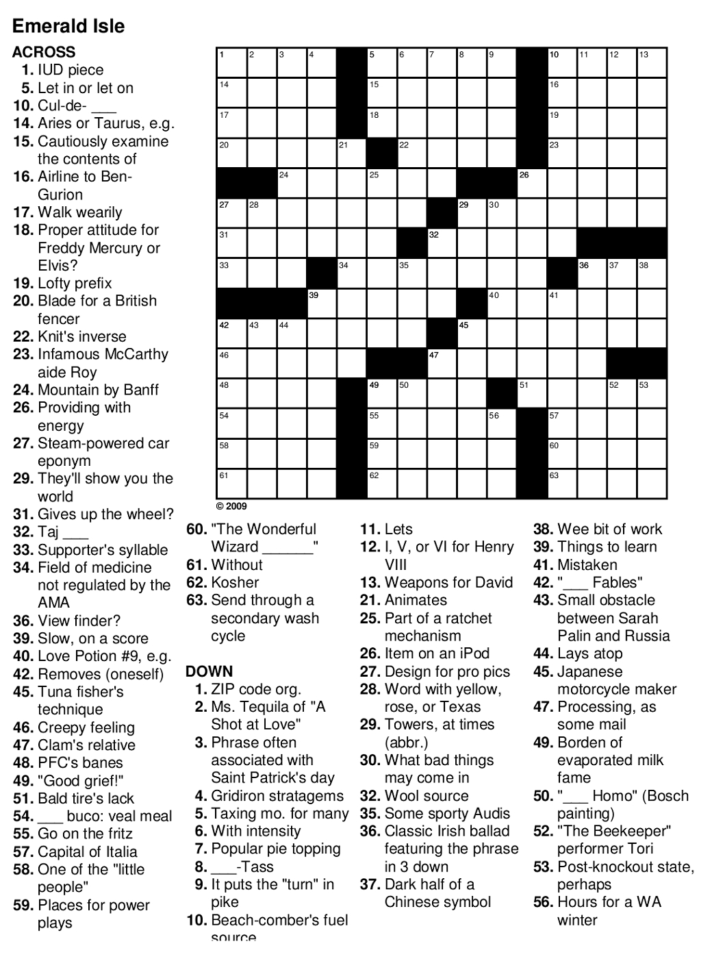Printable Crossword Puzzles Easy Large Print Free Puzzle Maker Mint - Free Printable Word Search Puzzles Adults Large Print