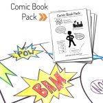 Printable Diy Comic Book Pack And Drawing Resources | Free   Free Printable Crafts