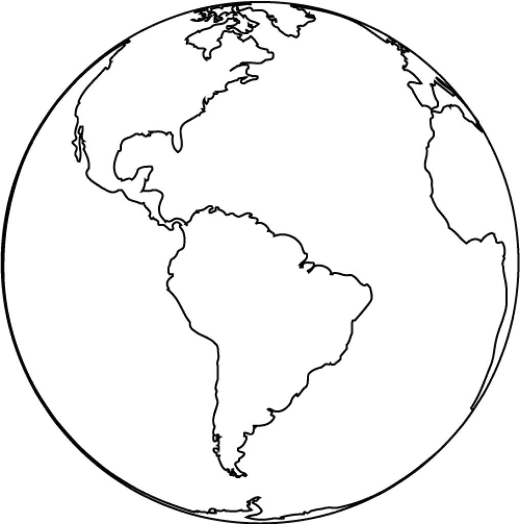 Printable Earth Coloring | Diywordpress - Free Printable Earth Pictures