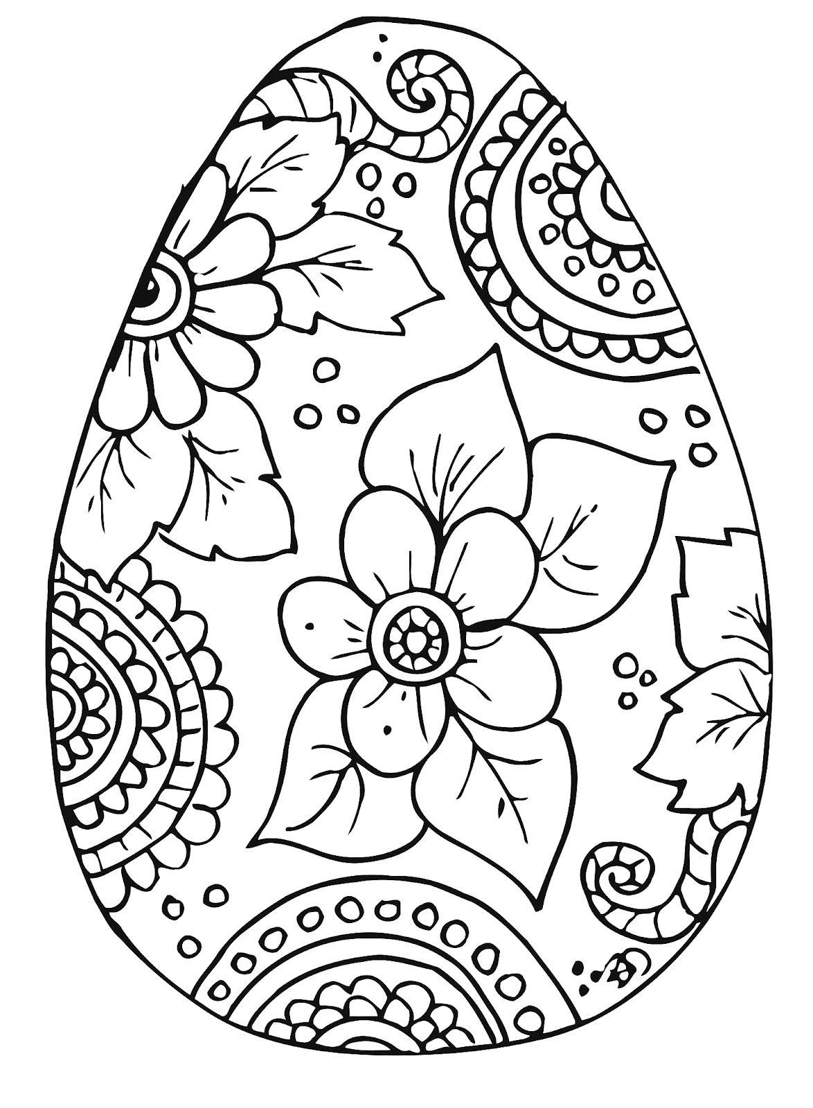 Printable Easter Coloring Pages - 2.13.kaartenstemp.nl • - Coloring Pages Free Printable Easter
