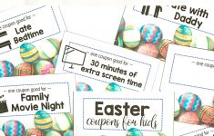 Printable Easter Coupons For Kids – I Can Teach My Child! – Free Printable Crayola Coupons