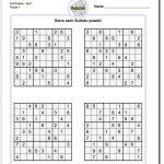Printable Evil Sudoku Https://www.dadsworksheets/puzzles/sudoku   Download Printable Sudoku Puzzles Free