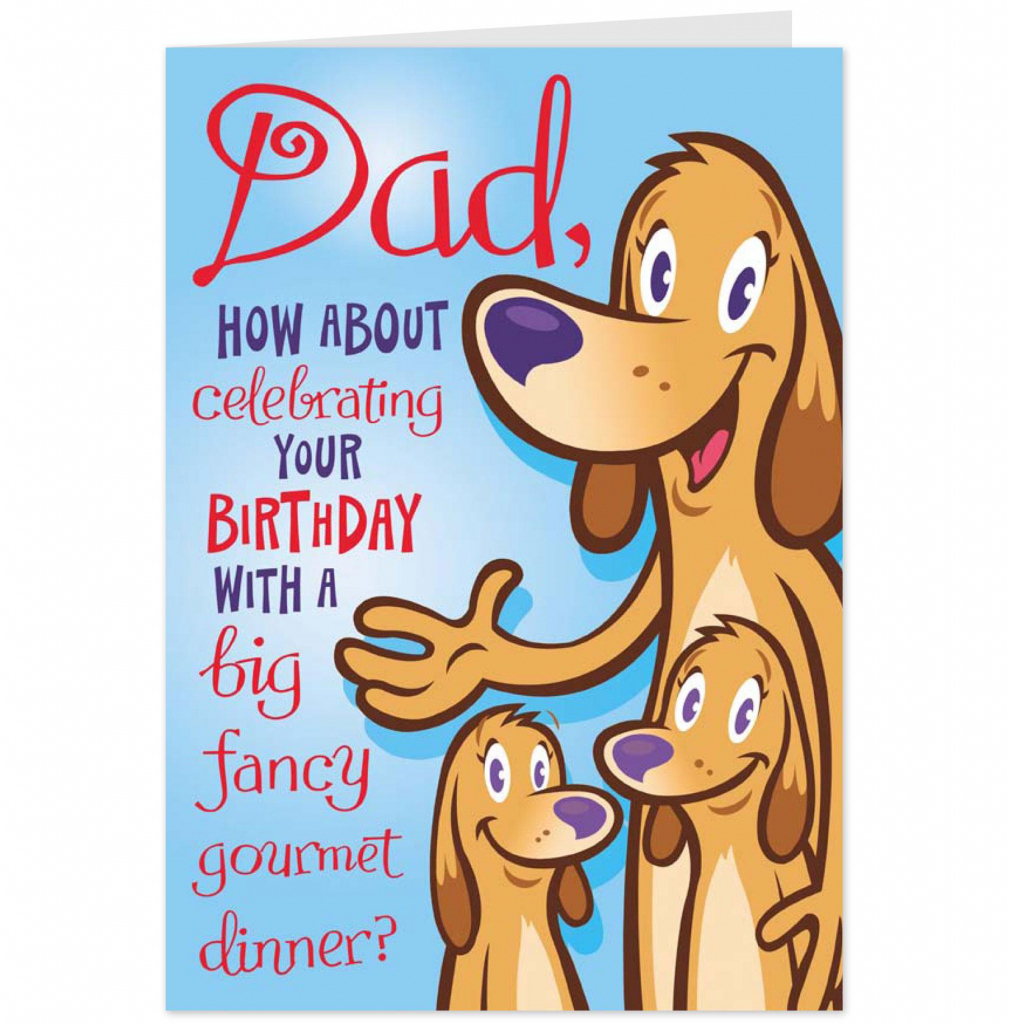 Printable Father Birthday Cards | Printable Cards - Free Printable Birthday Cards For Dad