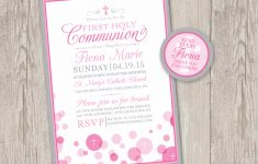 Free Printable 1St Communion Invitations